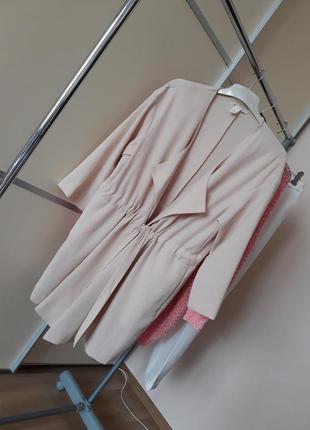 Шикарное легкое пальто тренч 1+1=3