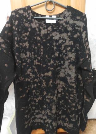 Крутой бесшовный пятнистый свитер topman