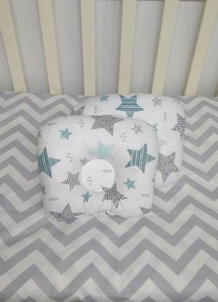 Подушка ортопедическая для новорождённых т. м. миля.
