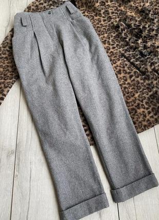 Шерстяние брюки ,штани annette gortz оригинал