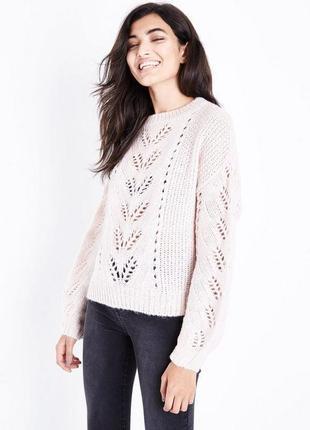 New look, ажурный свитер oversize , размер 48-52, новый