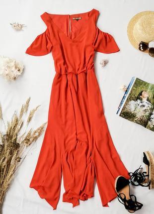 Струящееся платье с акцентом на линии плеча  dr1949012  biba