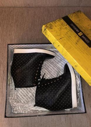 Полностью кожаные ботиночки antonio biaggi