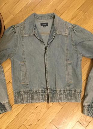 Крута джинсова куртка mexx