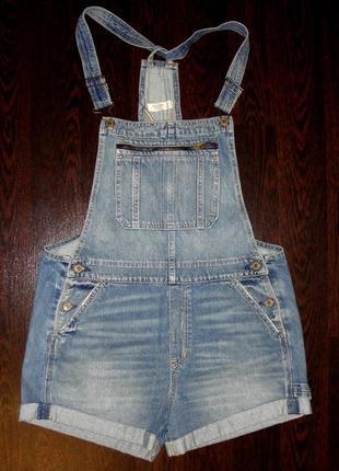 Женские джинсовые шорты abercrombie & fitch джинсовый летний комбинезон наш46-48