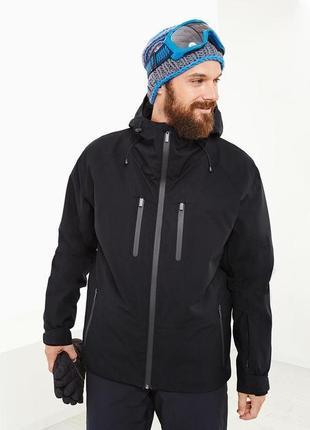 Высокотехнологичная лыжная куртка, курточка, мембрана 5000 от тсм tchibo (чибо), л