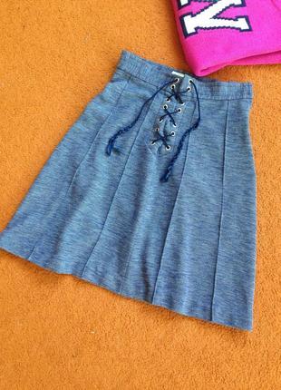 Классная юбка трапеция