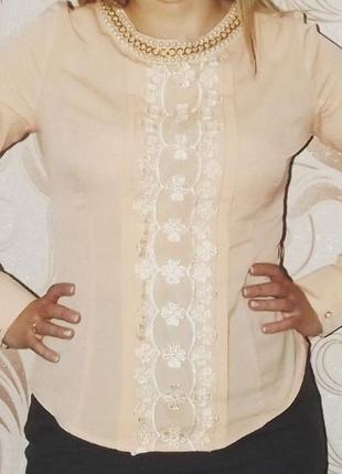 Нежная блуза phardi