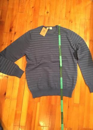 Пуловер синий filati partenopei новая италия кофта