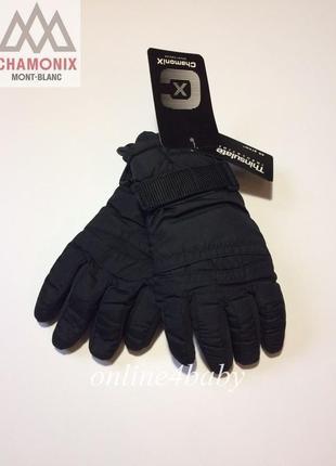Термоперчатки краги рукавицы chamonix thinsulate от 7 до 13 лет