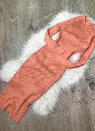Базове плаття в рубчик ,плаття жатка від vintage dressing