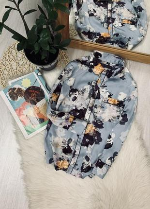 Блуза в квітковий принь від marks&spencer🌿