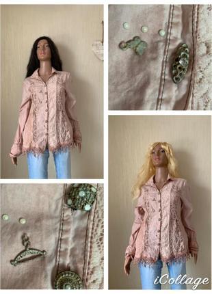 Щедевральная дизайнерская итальянская блуза elisa cavaletti