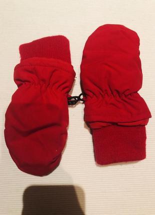 Термо рукавички hm