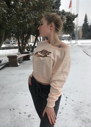Nike тёплая кофта
