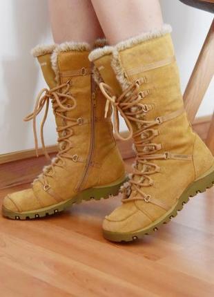 Skechers сапоги ботинки зимние меховые унты угги