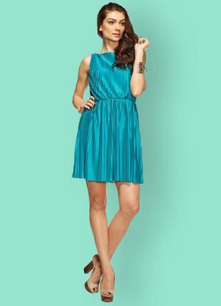 Платье mint&berry бирюзового цвета