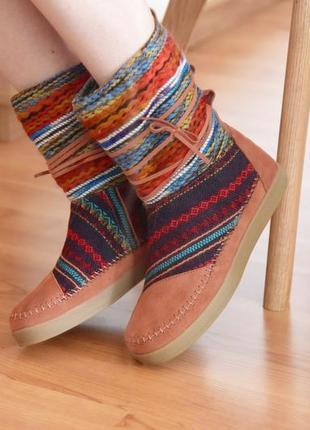 Toms угги унты зимние сапоги ботинки женские