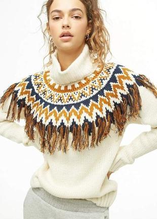 Теплый стильный свитер от forever 21 из лимитированной коллекции