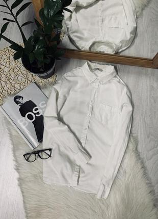 Котонова біла блуза від tu🌿