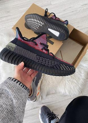 Шикарные кроссовки adidas yeezy boost 350 v2 yecheil унисекс 😍 (весна/ лето/ осень)