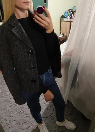 Шерстяной жакет, пиджак 🔥