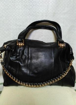 Классная стильная сумка 100 кожа