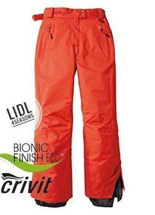 Лыжные термо штаны, мембрана, thinsulate 40 euro crivit, германия