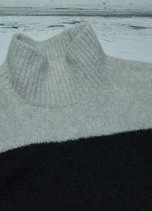Свитер под горло шерсть мохер альпака white label p m2 фото