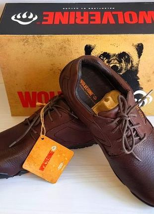 Полуботинки, ботинки wolwerine. оригинал. размеры 41,42,43,44,45,46