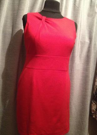 Оригинальное облегающее платье чехол футляр из костюмного трикотажа.268