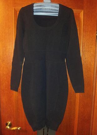 Платье черное  (утяжка) french connection