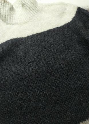Свитер под горло шерсть мохер альпака white label p m8 фото