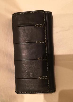 Красивый кожаный кошелек fenn wright manson studio, лондон🌺🌺🌺👜👜
