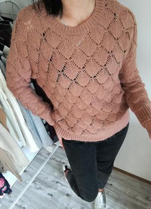 Ажурный свитер от vero moda