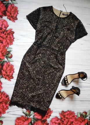 🌿нарядное,  елегантное, кружевное платье от marks&spencer. размер 3xl. 🌿
