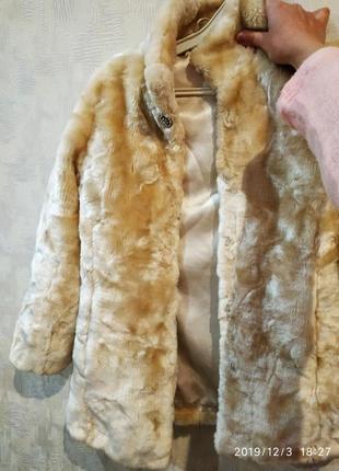 Куртка, шуба зимова 134-146 р