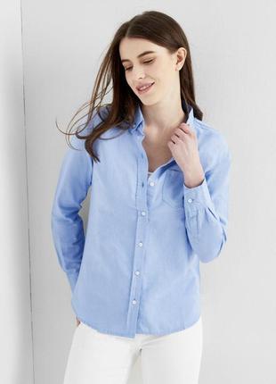 Рубашка в полоску montego.