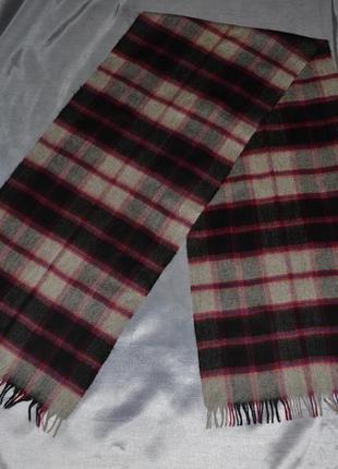 Кашемировый шарф, made in scotland