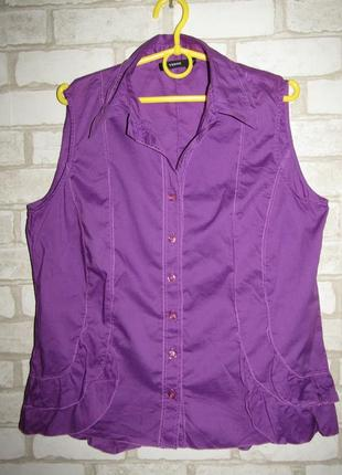 Легкая рубашка р-р л-14 бренд verse