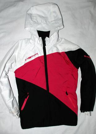Лыжная термо куртка курточка лыжница горнолыжная. рост 140 см.