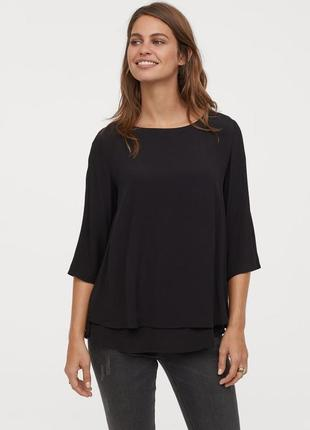 Блуза топ для беременных h&m mama
