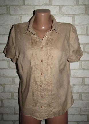 Базовая рубашка р-р л-14 бренд marco pecci