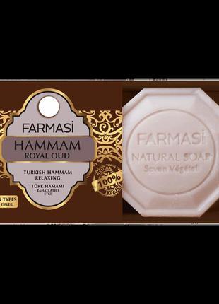 Натуральное мыло hammam royal oud soap