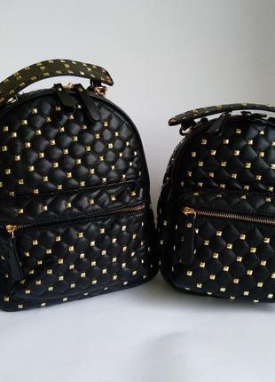 Женский рюкзак с шипами