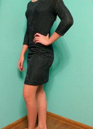 Платье с открытой спинкой zara