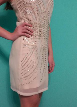 Вечернее короткое платье h&m