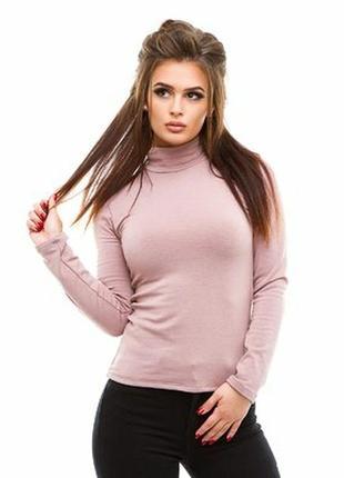 Шикарный свитер гольф из кашемира и шелка италия