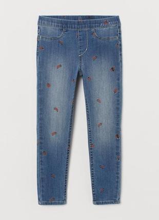 Джинсовые леггинсы, джинсы (все размера от 2 до 8 лет)