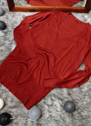 Пуловер джемпер блуза кофточка с v-образным вырезом next